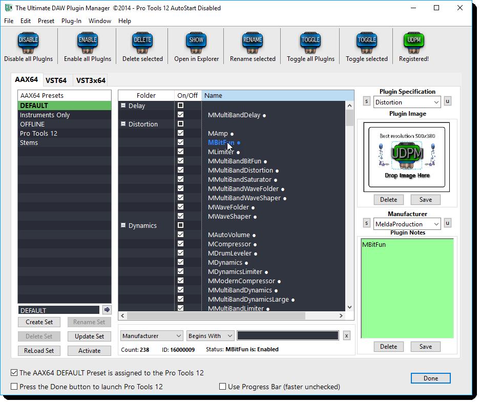 UDPM - for the Windows platform overview